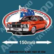 VINTAGE FORD 351 GT Decal Sticker Vintage Australiana Aussie Pride Hot Rod Decal