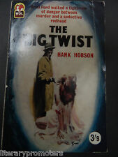 THE BIG TWIST BY FRANK HOBSON VINTAGE PAPERBACK FICTION BRAD FORD  WDL BOOKS VG