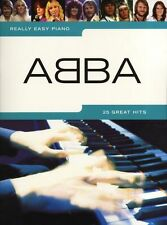 ABBA Really Easy Piano 25 Hits MAMMA MIA Music Book SONGS POP SOS DANCING QUEEN