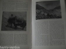 Mountaineering in Himalayas Mountain Climbing Fanny Workman 1902 Antique Article