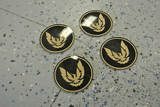 NOS 1982-92 Firebird Trans Am Wheel Center Cap Gold Bird Emblems GM 10037816 (4)