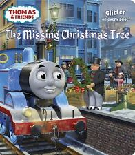 The Missing Christmas Tree (Thomas & Friends) (Glitter Board Book)-ExLibrary