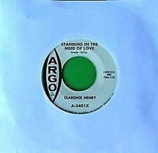 CLARENCE HENRY - STANDING IN NEED.LOVE -ARGO 45 -CANADA