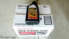NEW OEM TOYOTA ATF T4 (T-IV) TYPE 4 TRANSMISSION FLUID CASE 12 QUARTS