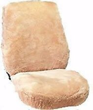 """ALL SHEEPSKIN SEAT COVERS- ONE PAIR Australian Skins 1"""" thick Highest Quality!"""