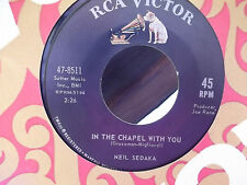 NEIL SEDAKA ON RCA RECORDS LET THE PEOPLE TALK / IN THE CHAPEL WITH YOU