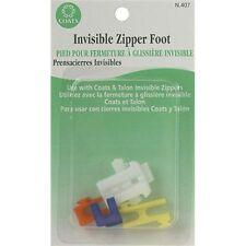 Coats Thread & Zippers Invisible Zipper Foot - 081569
