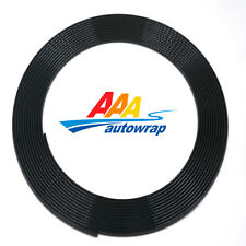 15 Feet Long BLACK Car Auto Door Edge Guard Protector Molding Trim Strip Fit DIY