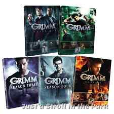 Grimm: David Giuntoli Complete TV Series Seasons 1 2 3 4 5 Box / DVD Set(s) NEW!