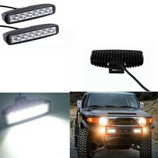 2*6 LED Fog Light / Work Light Bar Spot Beam Off Road Driving Lamp 18W CREE