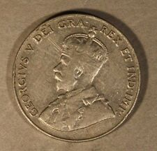 1925 Canada 5 Cents Key Date Coin Pleasant          ** FREE U.S. SHIPPING **