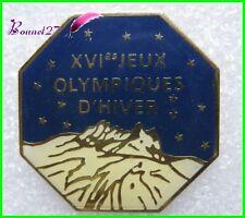 Pin's Jo Jeux Olympique XVIe Jeux olympiques d'Hiver Albertville #B4
