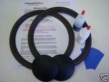 "JBL 2122H 4344 4345 10"" Woofer Refoam Kit - Speaker Repair - FREE SHIPPING!"