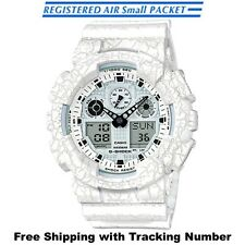 2016 New CASIO G-SHOCK Cracked Pattern GA-100CG-7AJF White Mens Watch from Japan