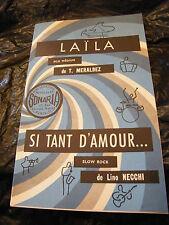 Partition Laila T Meraldez Si tant d'amour Necchi Music Sheet