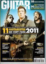 """GUITAR PART #201 """"John Lennon,KT Tunstall,Grinderman,Paulo Furtado"""" (REVUE+DVD)"""