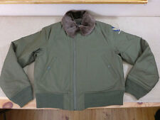 Us48 usaaf AIR FORCE AVIATEUR veste b-15/b15 vintage 40's FLIGHT JACKET w/logo