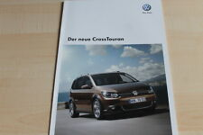 132891) VW Cross Touran Prospekt 08/2010