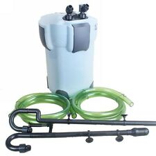 SUNSUN HW-404B 5-STAGE AQUARIUM EXTERNAL CANISTER FILTER w/9W UV STERILIZER 525G