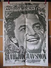 A1821 LA HIJA DE JUAN SIMON,ANTOINIO MOLINA,MARIA JESUS CUADRA