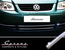 VW Touran 1T 03-06 & Caddy - 3M chrome trim for Radiator grille ohne lower