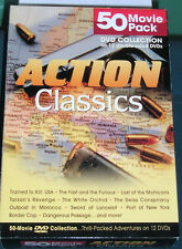2004 Action Classics 50 Movie Pack DVD Collection Steve McQueen, Charles Bronson