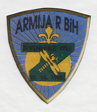 BOSNIA ARMY - ŽIVINICE AXIS  ŽIVINIČKE OSE - Foreign MUJAHEDIN unit,  rare patch