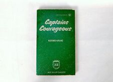 "Vintage Paperback Book ""Captains Courageous"" by Rudyard Kipling ~ AB Classics"