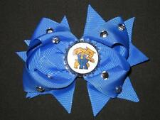 "NEW ""KENTUCKY Wildcats"" UK University Girls Ribbon Hairbow Bow Rhinestone NCAA"