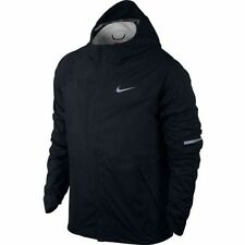 NWT  Nike Shieldrunner Running Men's Jacket WATERPROOF Black SZ M 689473 $250