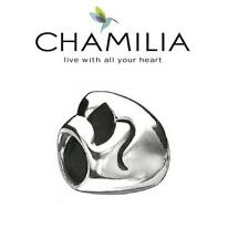 Genuine CHAMILIA 925 sterling silver MOTHERHOOD charm bead, RRP £30, mother baby