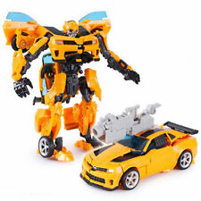 """Transformers """"CONVERTS TO CAR"""" Bumblebee Robots Action Figures Toys"""