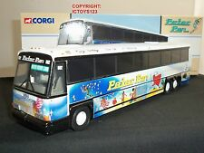 CORGI 98427 MCI 102 DL3 PETER PAN 60TH BIRTHDAY AMERICAN DIECAST MODEL COACH BUS