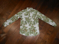 NWOT NATIVE CODE Plants Cactus L/S Casual Shirt Size L Green
