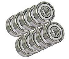 """10 Unflanged Slot Car Axle Shielded Bearing 3/32""""x3/16"""" inch Bearings"""