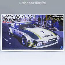 AOSHIMA 047453 - Car Vintage SAVANNA RX-7 DAYTONA 24H 1979 - 1:24 Ser. No. 62