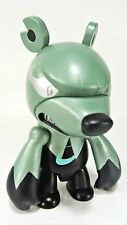 "Elementaler Series - WIND EDGE Knuckle green KNUCKLE BEAR Qee 2.5"" keychain NEW"