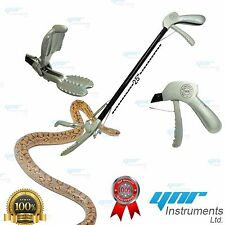 "YNR 25"" Snake Catcher Stick Lizards Tongs Rattlesnake Catcher Grabber SP Design"