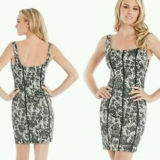 GUESS Ginger Sleeveless Lace-Print Dress size 6