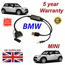BMW MINI (611204407) For Apple 3GS 4 4S iPhone iPod USB & 3.5mm Aux Cable