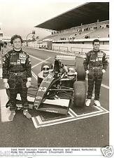 photo.course automobile . 1991 . Pierluigi Martini . Gianni Morbidelli