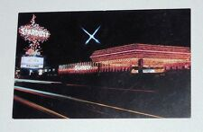 Vintage Stardust Hotel And Casino Las Vegas Neon Lights/Lido Marquee Postcard