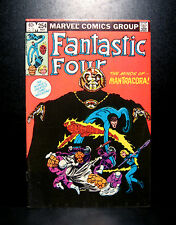 COMICS: Marvel: Fantastic Four #254 (1980s) - RARE (figure/ironman/spiderman)
