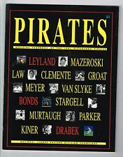 1991 Pittsburgh Pirates MLB Baseball YEARBOOK