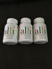 Lot of 3 Alli Orlistat Weight Loss