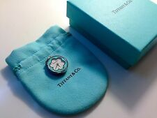 Tiffany & Co. Blue Blossom Watch Charm (Bag, Box, Pouch, Greeting Card Included)
