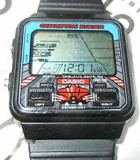 VINTAGE CASIO GAME WATCH GR-15 CHAMPION RACER