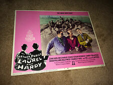 FURTHER PERILS LAUREL & HARDY Movie Lobby Card Poster 1967 Stan Ollie in Mud #7