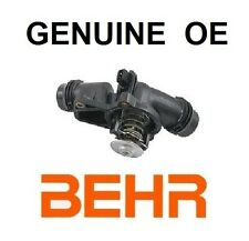 BMW Thermostat with Housing and Gasket GENUINE BEHR OR WAHLER OE GERMANY