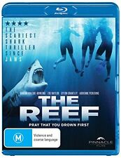 THE REEF (2010) Shark Horror  -   Blu Ray - Sealed Region B
